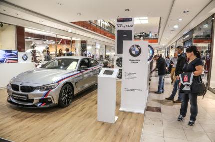 Stoisko POP UP – BMW – Trójmiasto 2015